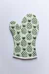 Green Pineapple Oven Mitten