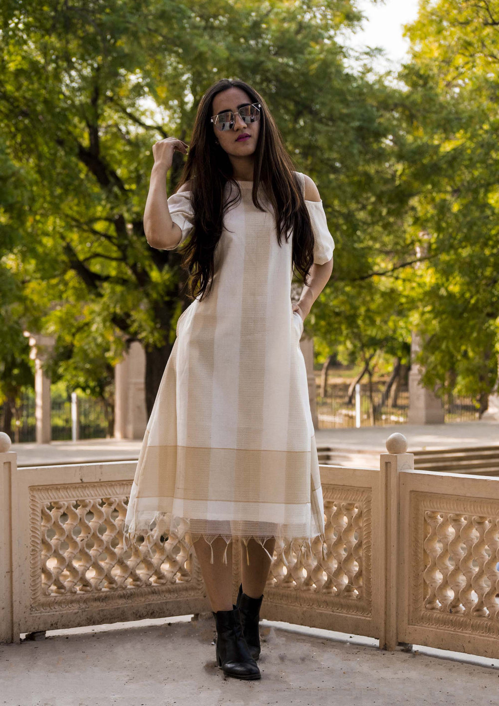 The Chanderi Dress