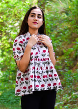 The Mughal Motif Top