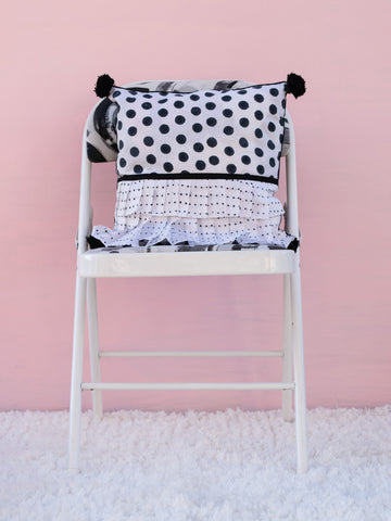 Polka Treasure Cushion Cover