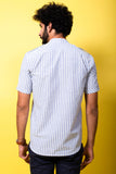 Blue Stripes Shirt