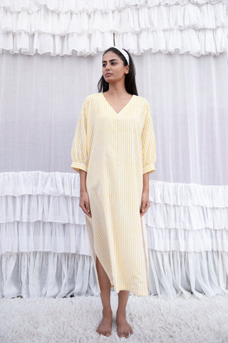 Yellow Beryl Kaftan