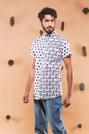 Polka Pineapple Dual Shirt