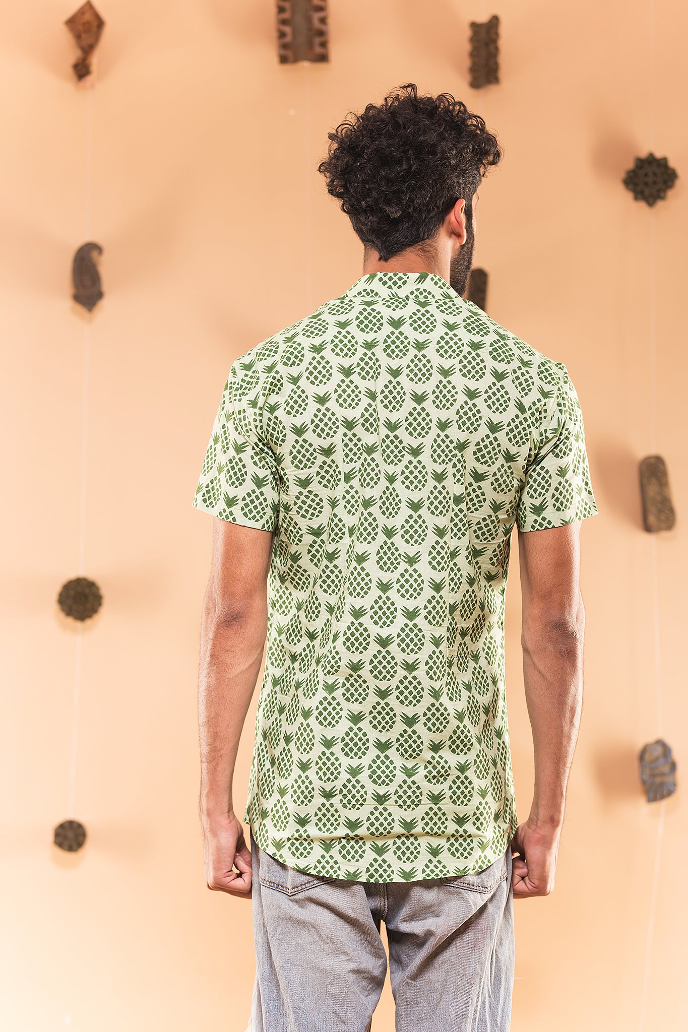Green Pineapple Shirt