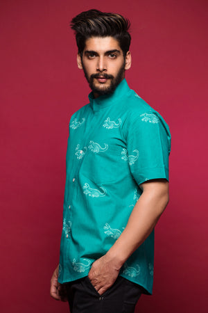 Crocodile Short Sleeve Shirt