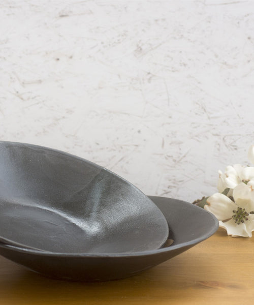 Pasta Bowls Set of 2 Wabi Sabi - ShellyClayspot