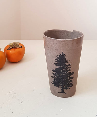 Ceramic Tree Mug - ShellyClayspot