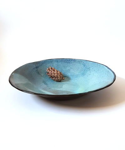 Blue ceramic Bowl - ShellyClayspot