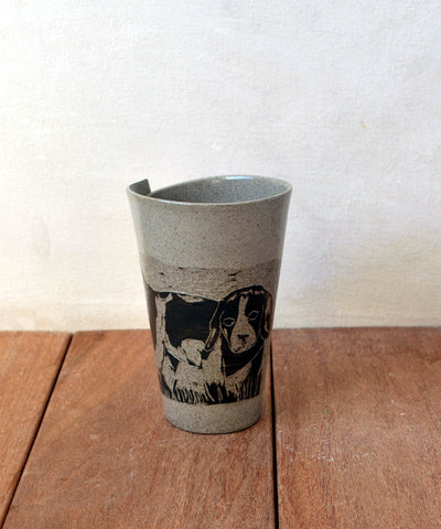 Dog Mug Personalized Coffee Cup - ShellyClayspot