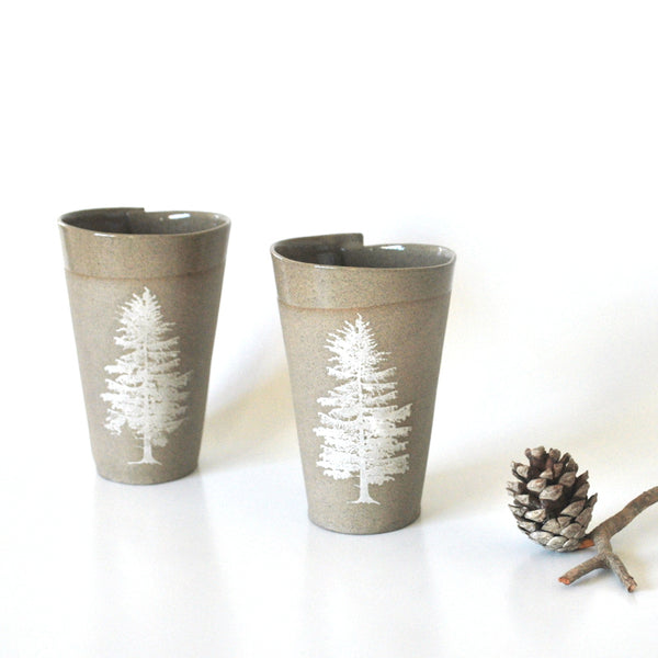 Tree Mugs Set of 2