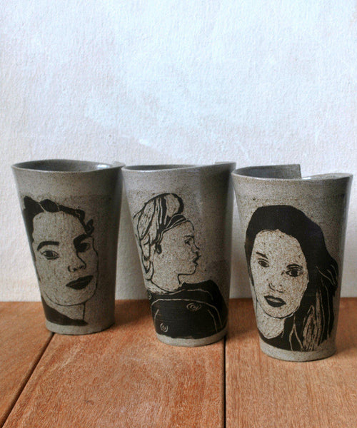 Unique Coffee Mug - ShellyClayspot