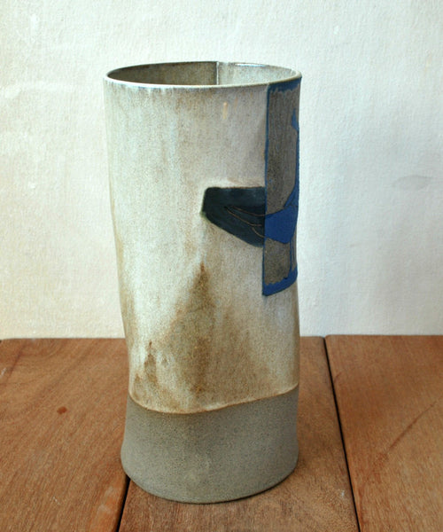 Ceramic Flower Vase - ShellyClayspot