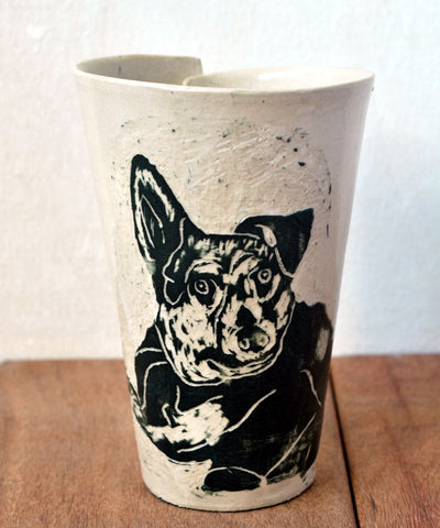 Custom Pet Coffee Mug - ShellyClayspot
