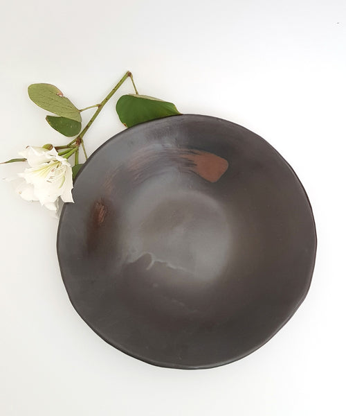 Large Wabi Sabi Bowl - Shellyclayspot