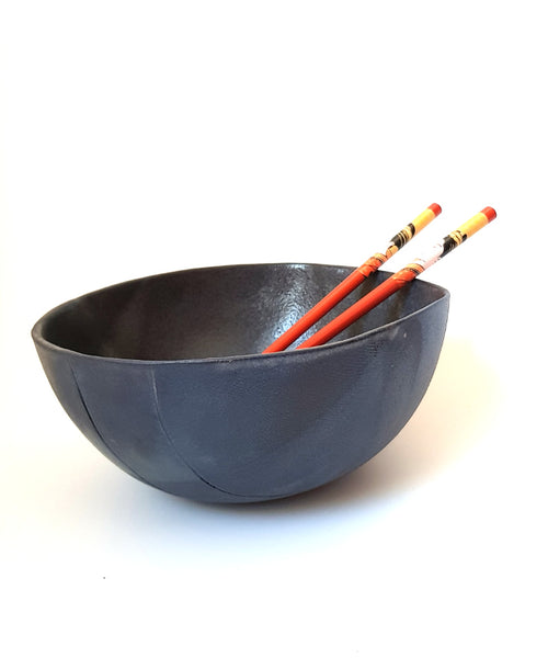 Black Ramen Bowls - Set of 2 Shellyclayspot