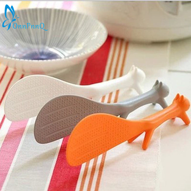 Squirrel Non-Stick Rice Paddle
