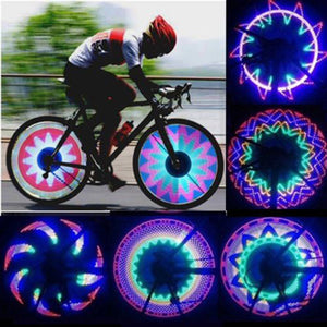 Colourful Bike Wheel Lights