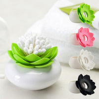 Lotus Cotton Swab Holder