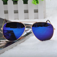 Aviator Metal Frame Sunglasses