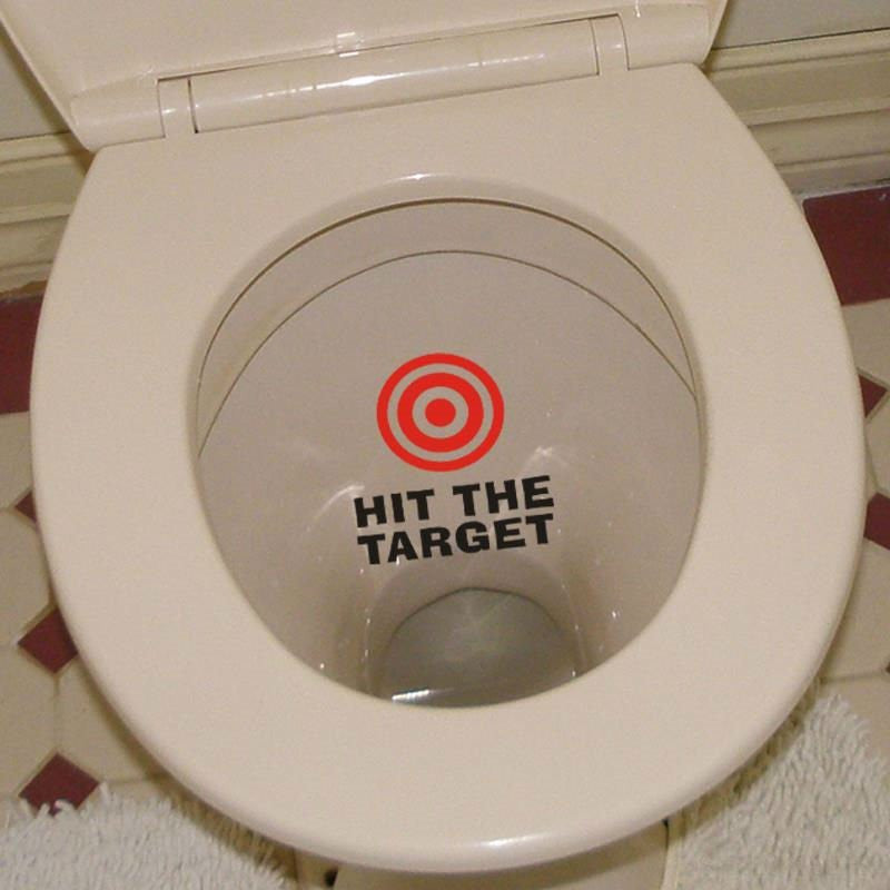 Toilet Decoration Sticker