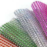 Rhinestone Chain Diamond Mesh Wrap