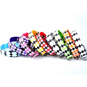 Patterned Light Up Pet Collar
