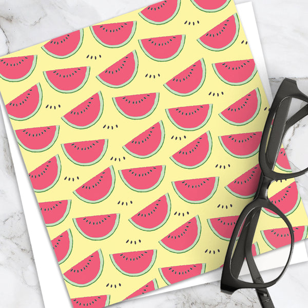 Watermelon - Design by Emily Burningham - Blank Greetings Card - Children's Range