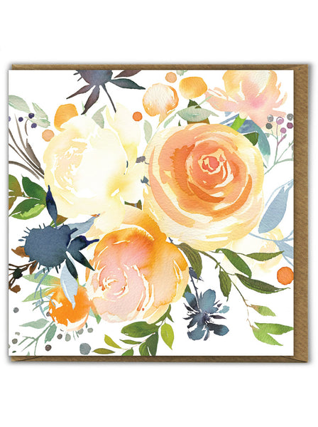 Golden Roses Card