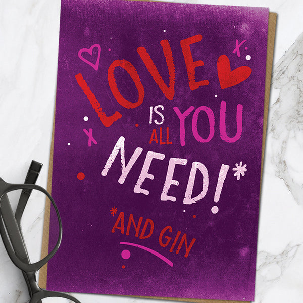 Love Is All You Need (Pack Of 6)