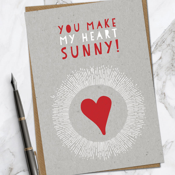 Heart Sunny (Pack Of 6)