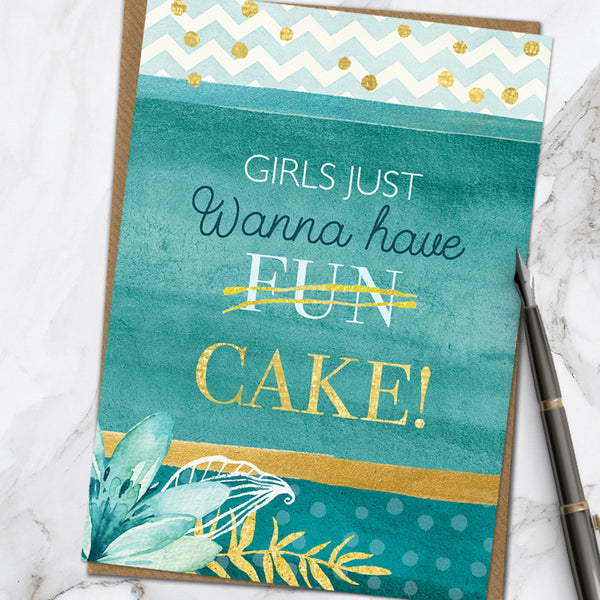Girls Cake (Pack Of 6)