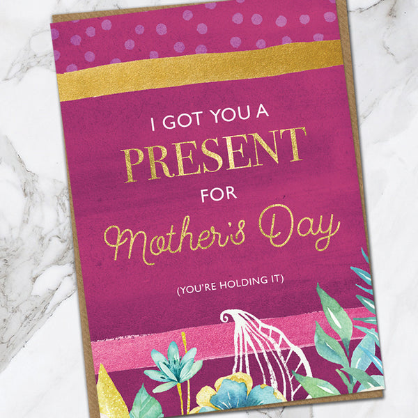 Mothers Day Present (Pack Of 6)