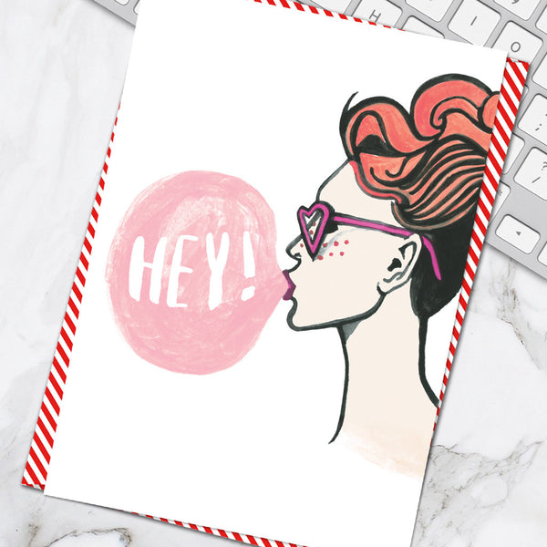 Hey Girl (Pack of 6)