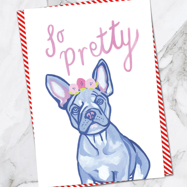 So Pretty French Bulldog (Pack of 6)