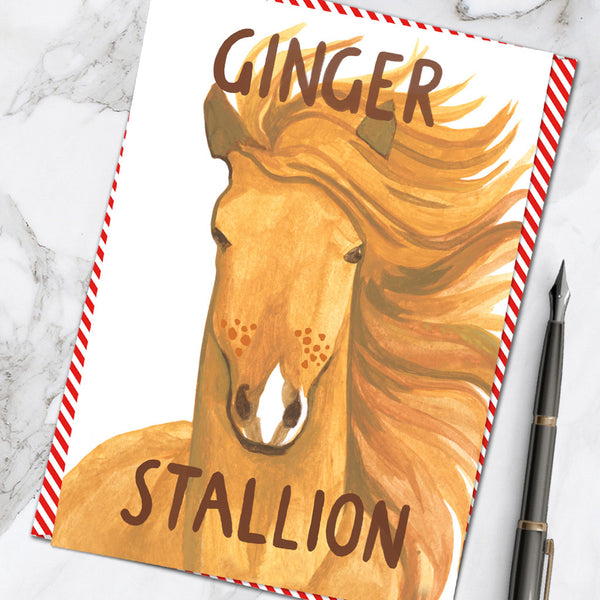 Ginger Stallion