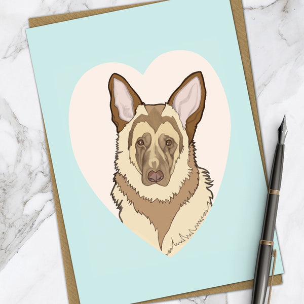 German Shepherd (Pack Of 6)