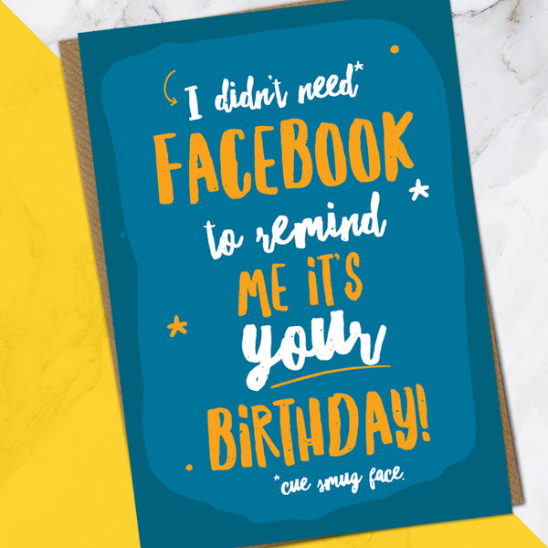 Facebook (Pack Of 6)