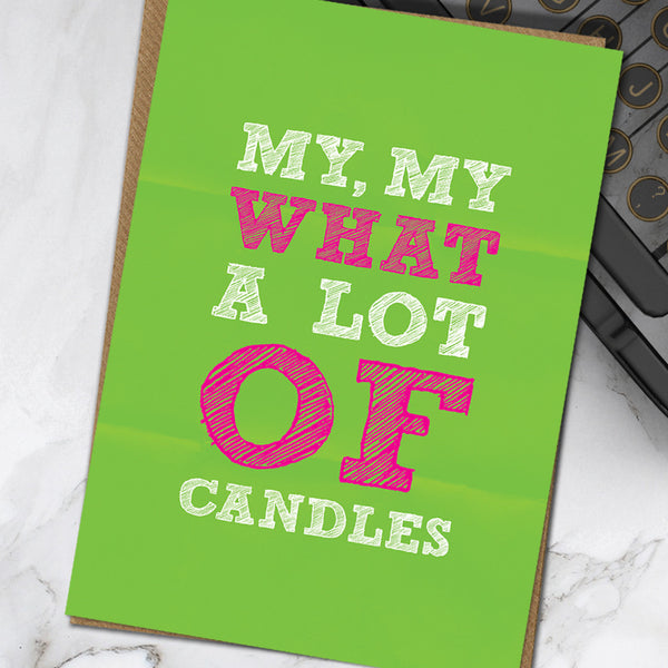 Lot Of Candles (Pack Of 6)