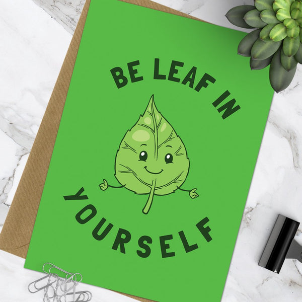 Be Leaf In Yourself (Pack Of 6)