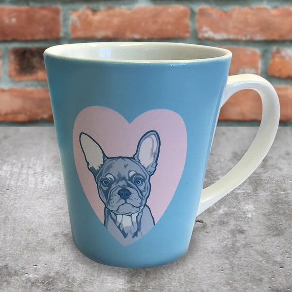 INKMUG001 French Bulldog Latte Mug