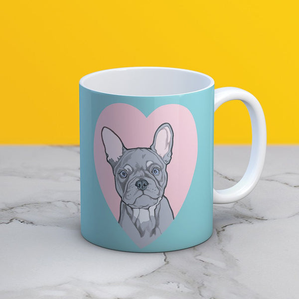 INKMUG007 French Bulldog Mug