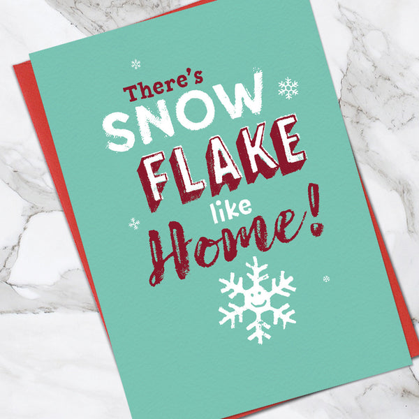 Snow Flake Like Home (Pack Of 6)