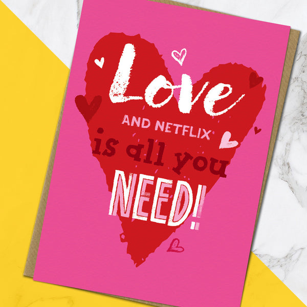 Love & Netflix (Pack Of 6)