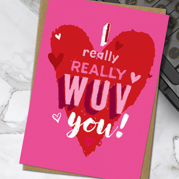 Really Wuv (Pack Of 6)