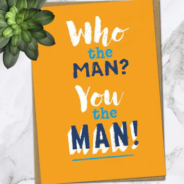 You The Man (Pack Of 6)