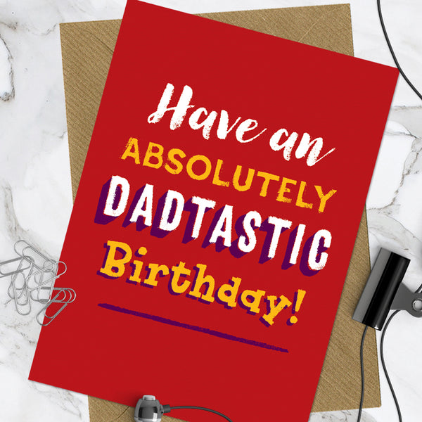 Dadtastic Birthday (Pack Of 6)