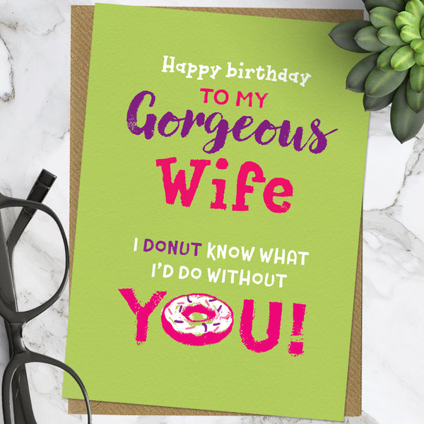 Wife Donut (Pack Of 6)