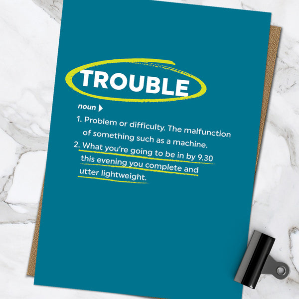 Trouble (Pack Of 6)
