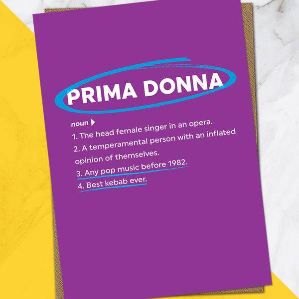Prima Donna (Pack Of 6)