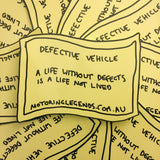 A Life Without Defects